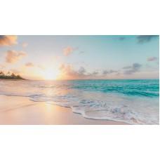 Karibi tengerpart panoráma vászonkép
