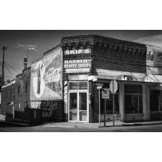 Skip's Barber shop (Arkansas) vászonkép