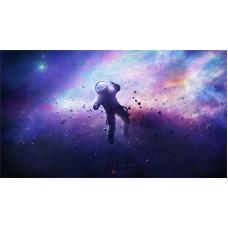 Űrhajós a ködben - Sci-Fi témájú kép