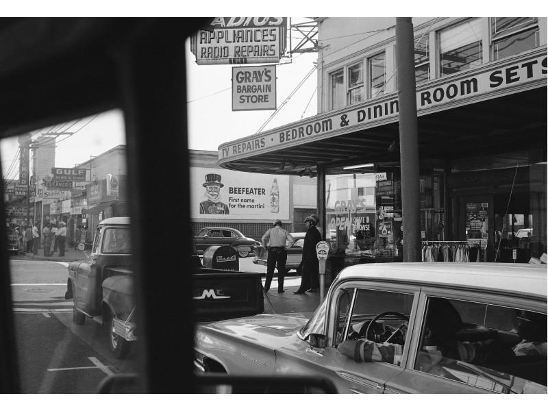 Beefeater reklám és retro utcakép