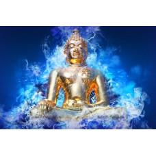 Ülő buddha vászonkép