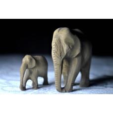 Buddhista elefántok zen vászonkép