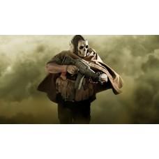 Call Of Duty - Szellem maszkos katona gamer egérpad