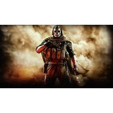 Call Of Duty - Csontváz maszkos katona gamer egérpad