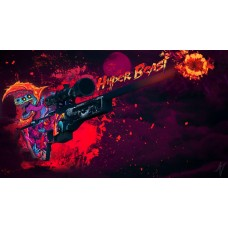 Counter Strike - Hyper Beast gamer egérpad
