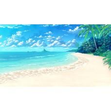 A Karibi tengerpart vászonkép