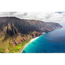 Napali - Hawaii szigetek panoráma vászonkép