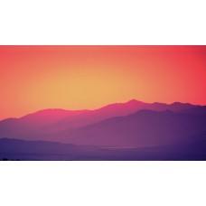 Napnyugta a völgyben vászonkép