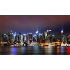 Éjszakai New York vászonposzter