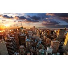 New Yorki felhőkarcolók vászonkép