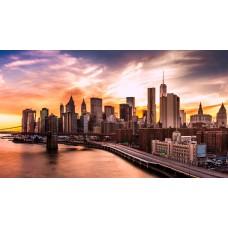 New York - Brooklyn Híd vászonkép
