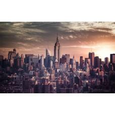 New York-i panoráma vászonképen