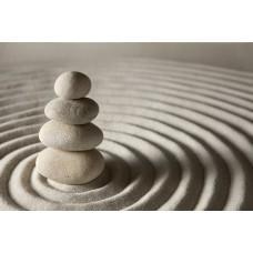 Zen kert és Zen-kövek vászonkép