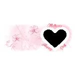 Egy ablakos anyák napi bögre óriási szívvel
